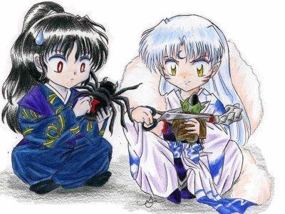 Naraku and Sesshomaru