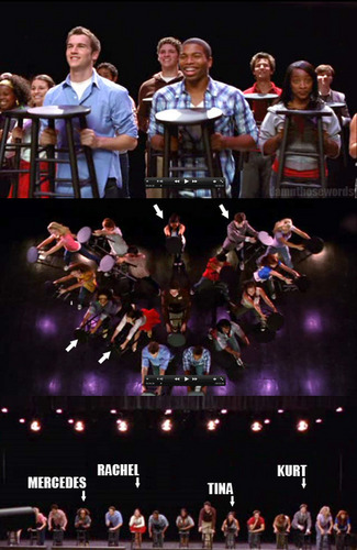 New pics from the extended glee pilot