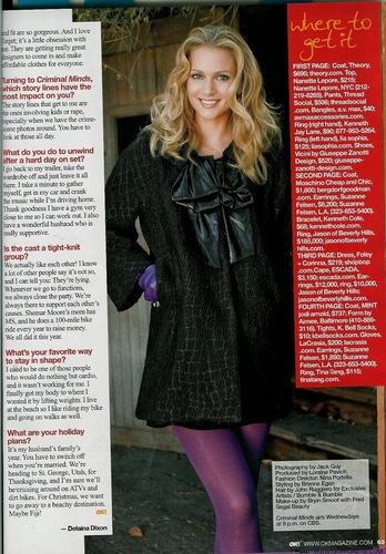 OK magazine interview