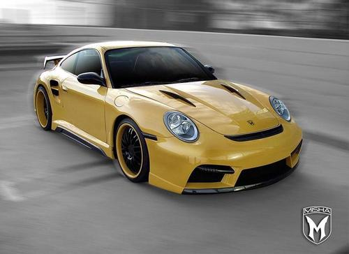 PORSCHE 911 TURBO par MISHA design