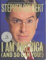 Pre-publication marketing booklet for I Am America (And So Can You!) - the-colbert-report photo