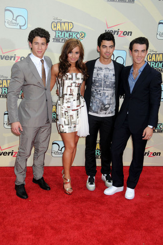 Premiere of 'Camp Rock 2: The Final Jam'
