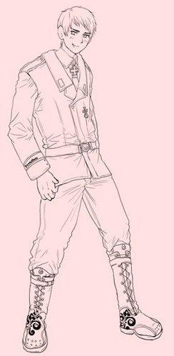 Prussia-From Manga-