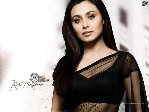 Rani Mukherjee kertas dinding probably with a chemise, a koktel dress, and a chemise titled Rani Mukherjee