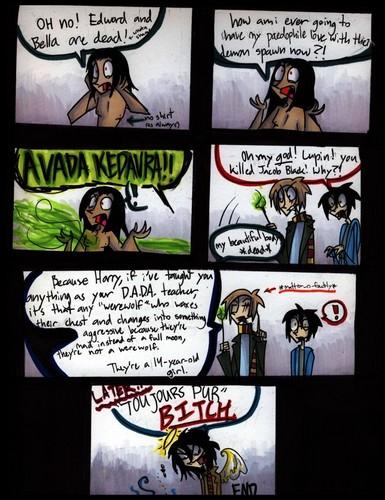 Remus Lupin/Jacob Black comic