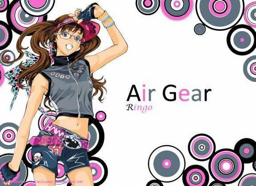Ringo Posing - air-gear Photo