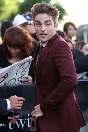 Rob at LA premier