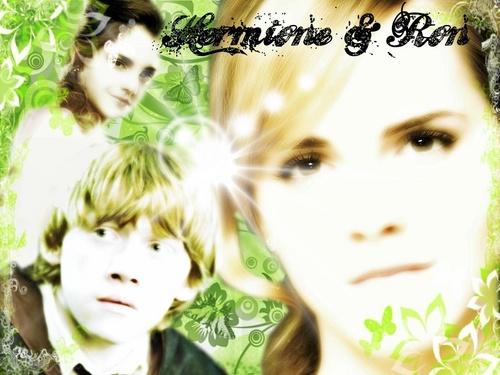 Ron & Hermione fond d'écran ;-)