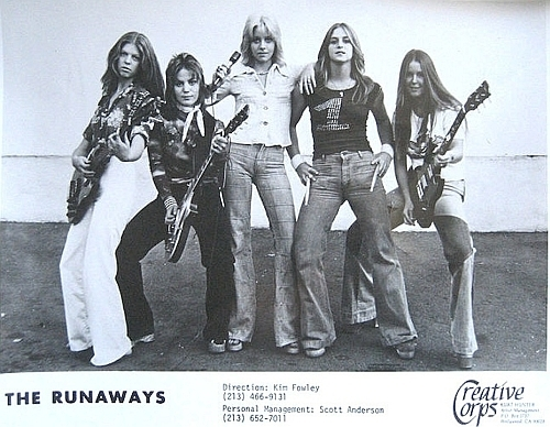 Runaways Promotional Pic - 1976