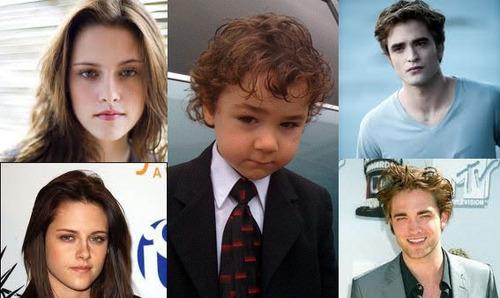 Ryan as the little boy Bella dreams of