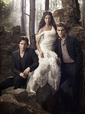 Stefan & Elena fondo de pantalla probably with a bridesmaid entitled S2 Promotional foto