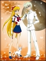 Sailor V and Kaito