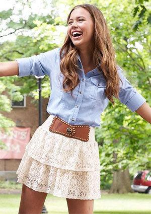 skirt model Sandra teen