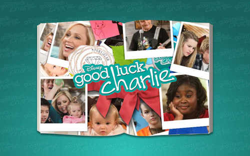 Good Luck Charlie wallpaper with an electric refrigerator entitled Scrapbook