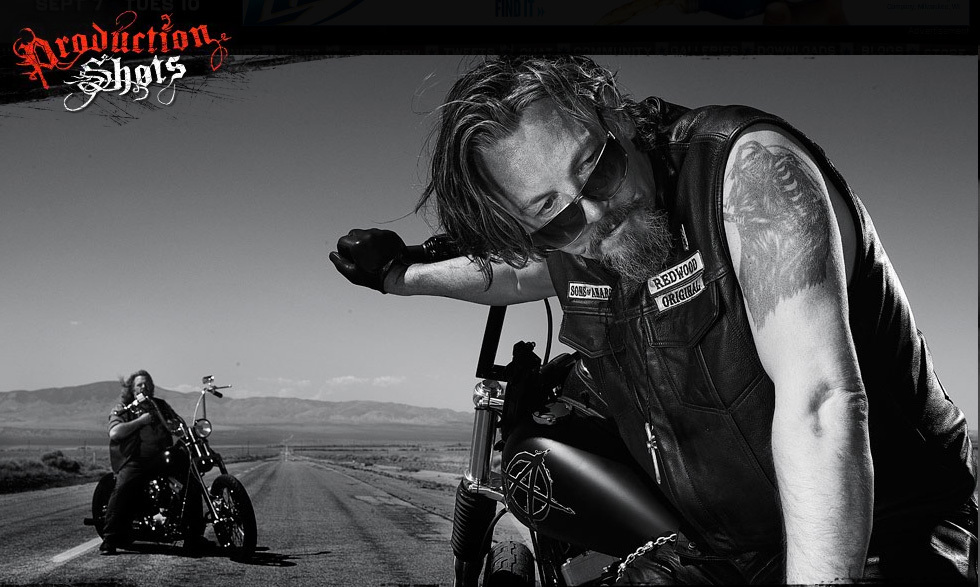 Sons of Anarchy Chibs Bike