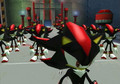 Shadow Clonez...EVRYWHERE!!!!!!!!!! - shadow-the-hedgehog photo