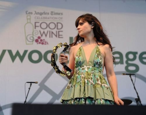 She & Him - LA Times Celebration Of Cibo & Wine