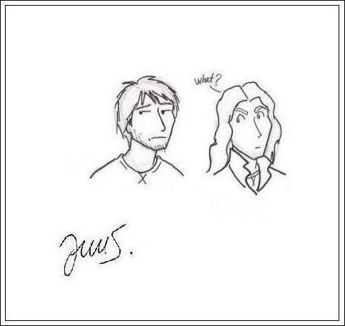 Sirius and Remus!
