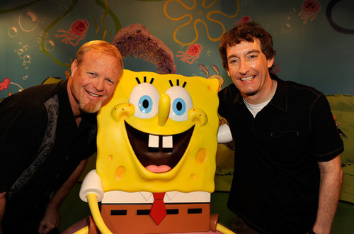 SpongeBob SquarePants Wax Figure Unveiled in Honor of 10th Anniversary