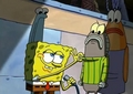 Spongebob Striped Sweater