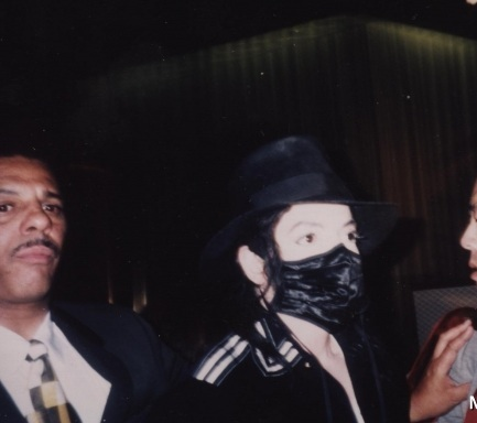 THE BLACK, SILKY MASK