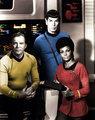 TOS: Kirk/Spock/Uhura