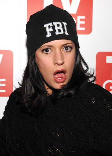 paget brewster wallpaper possibly with a portrait called TV Guide party