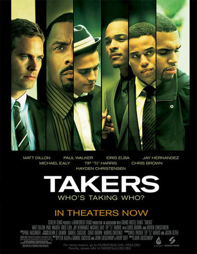 Takers poster :)