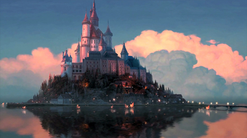 Tangled- kastil, castle