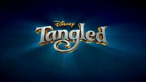 Tangled wallpaper entitled Tangled logo :)