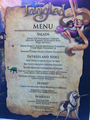 tangled lunch menu :)
