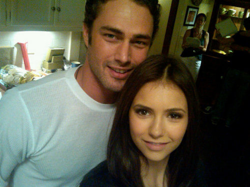 Taylor Kinney and Nina