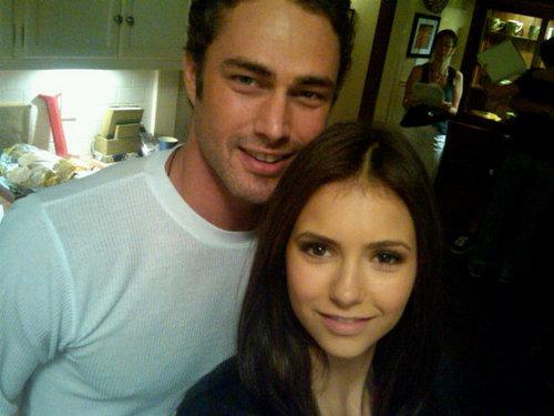 Taylor Kinney and Nina
