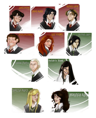 The First Generation of Hogwarts