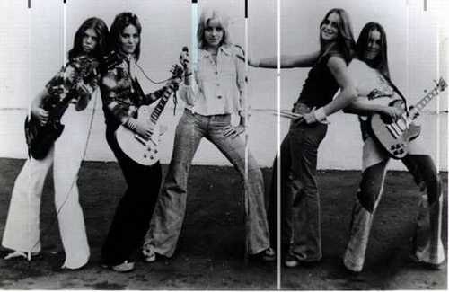The Runaways in 1976