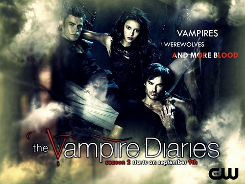 The Vampire Diaries Seaso 2