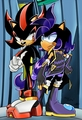 Tight pimp shadow:) - shadow-the-hedgehog photo