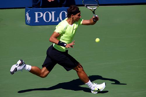 U.S Open 2010 Men's Singles Semifinal Nadal - Youzhny