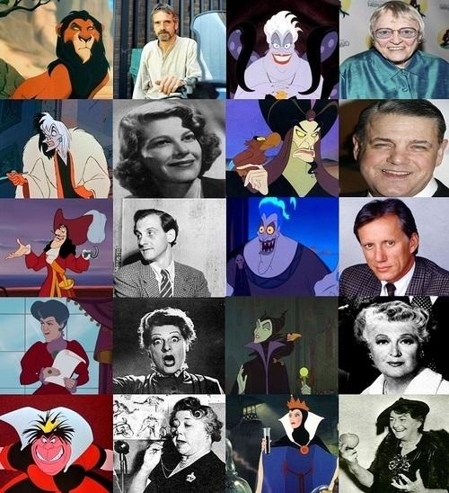 Disney Villains images Villians and their voice actors ...