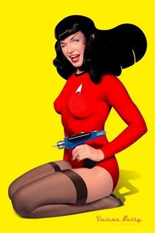 Du hành giữa các vì sao hình nền entitled Vulcan Betty