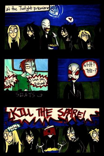 When Voldemort saw Twilight comic