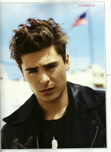 Zac Efron wallpaper probably with a portrait called Wonderland Mag Scan
