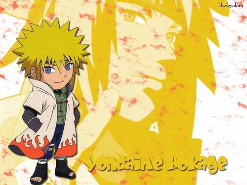 Minato Namikaze wallpaper possibly with anime entitled Yondaime