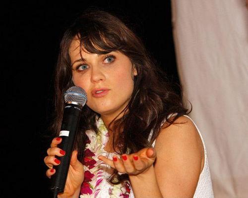 Zooey Deschanel - Maui Film Festival