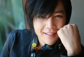 A-N-JELL Hintergrund possibly containing a portrait entitled jang geun suk