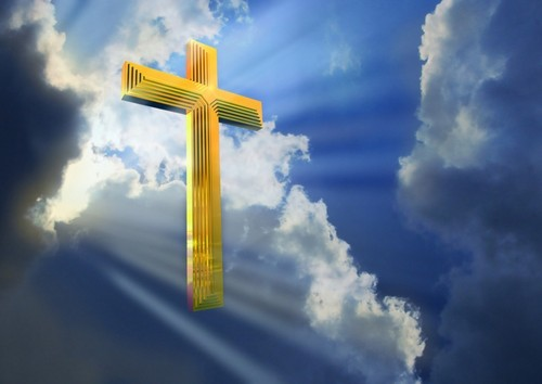 jesus cross in heaven - jesus Photo