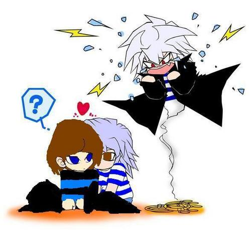 me and ryou