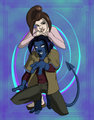 shadowcat & nightcrawle - x-men-evolution-couples photo