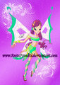 twinx - winx-club-roxy fan art
