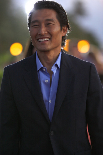 Daniel Dae Kim at the 'Hawaii 5-0′ Premiere on Waikiki 海滩
